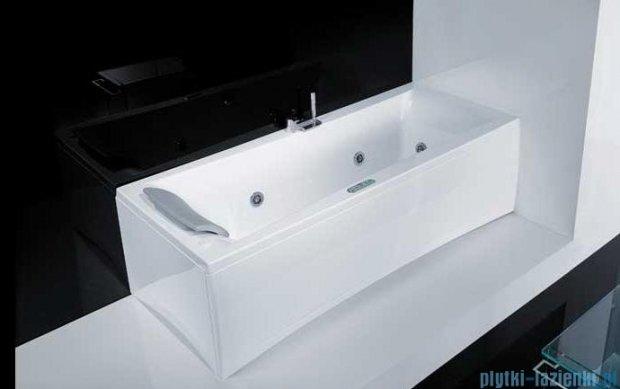 Novellini Elysium Wanna Y 180x80 z hydromasażem wodnym PRAWA Y518080RD0-A2K