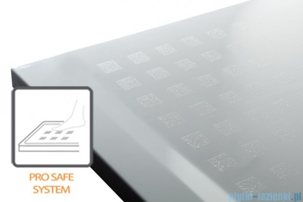 Sanplast Space Line brodzik prostokątny 100x90x3cm + syfon 615-110-0200-01-000
