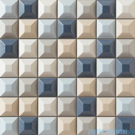 Tubądzin Elementary blue mozaika ścienna 31,4x31,4