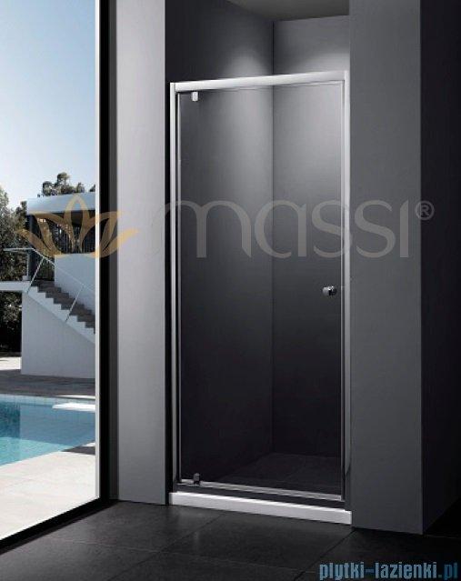 Massi Verre drzwi prysznicowe 90x185 cm przejrzyste MSKP-FA406-90