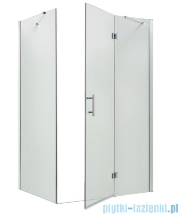Omnires Manhattan Kabina prostokątna 3M™ Easy Clean 100x90x195cm szkło przejrzyste + brodzik ADC91XLUX-T/3.068