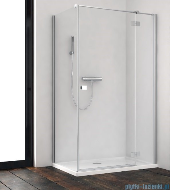 Radaway Essenza New Kdj kabina 90x110cm prawa szkło przejrzyste 385044-01-01R/384053-01-01