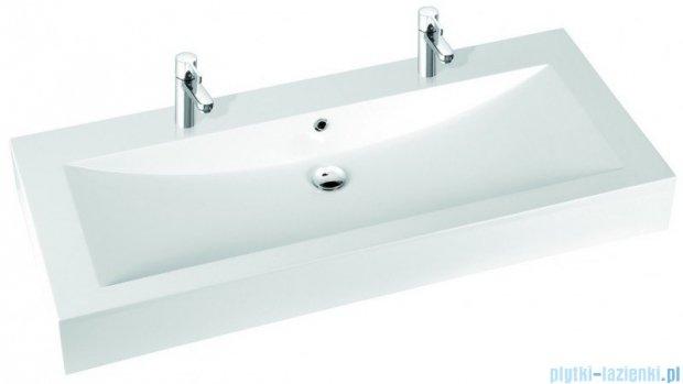 Marmorin Ceto 130 umywalka nablatowa bez otworu biała 170130020210
