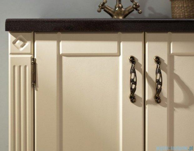 Antado Ritorno szafka wanilia z umywalką i blatem 100x50x81cm VR-240-10-40 + UMB-1004-04