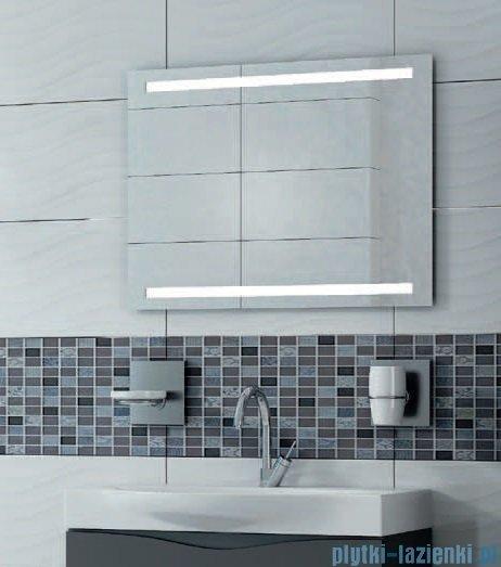 Antado lustro z paskiem świetlnym LED zimne 60x80cm L1-B2-LED2
