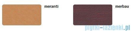 Sanplast Obudowa krótka do wanny Altus prostokątnej, OWP-ALT/EX D-M 80 cm merbau 620-120-0250-20-000