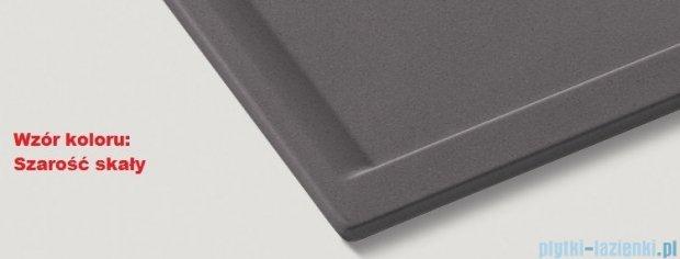 Blanco Zenar XL 6 S-F  Zlewozmywak Silgranit PuraDur komora lewa kolor: szarość skałi z kor. aut. i deską do krojenia z drewna jesionowego 519324