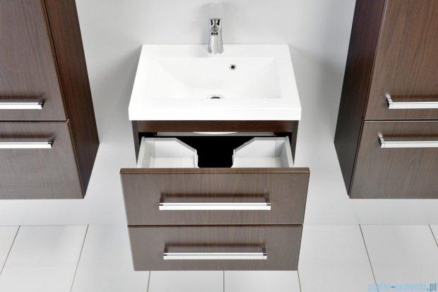 Antado Variete szafka z umywalką, wisząca z dwiema szufladami 50x39x40 wenge mat FDM-C-442/5/2GT + UMMC-500X390