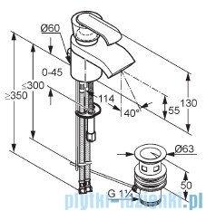 Kludi Joop Bateria umywalkowa jednouchwytowa DN 10 chrom 550240575