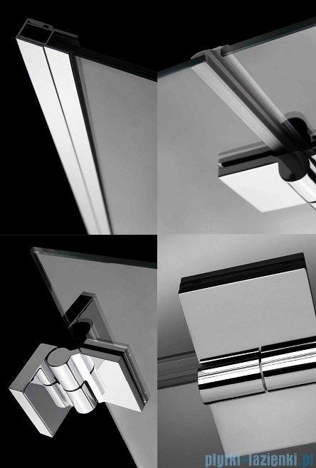 Radaway Carena DWB Drzwi prysznicowe 90 lewe szkło przejrzyste 34502-01-01NL