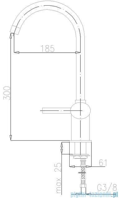 KFA Diament bateria zlewozmywakowa, kolor chrom 4103-915-00