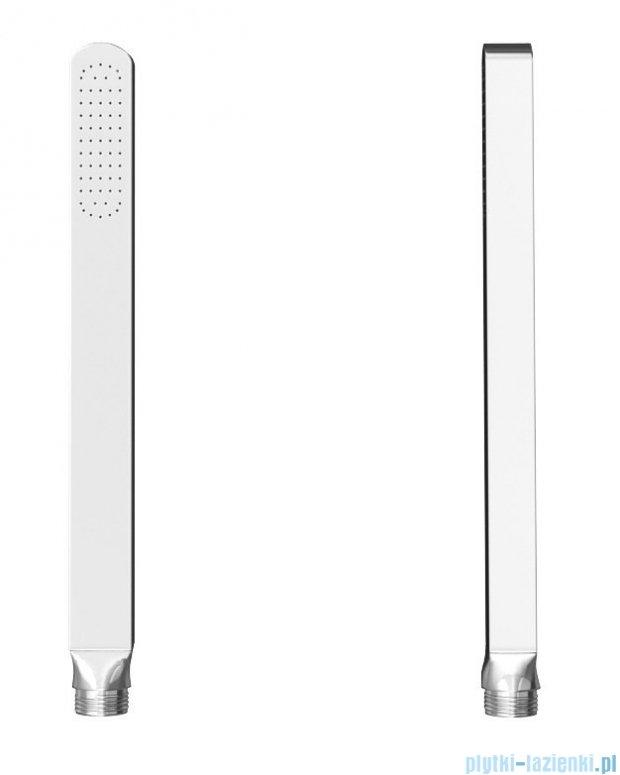 Kohlman Saxo zestaw wannowo-prysznicowy chrom QW211SQ40-007