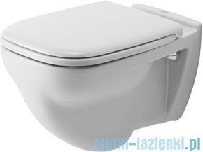 Duravit D-Code miska toaletowa wisząca z półką 355x540 mm 221009 00 002