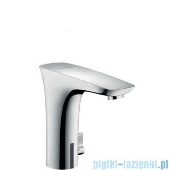 Hansgrohe PuraVida Electronic Samoczynna bateria umywalkowa na podczerwień biały/chrom 15171400