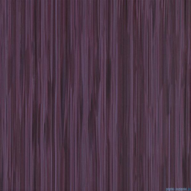 Tubądzin Wave violet płytka podłogowa 45x45