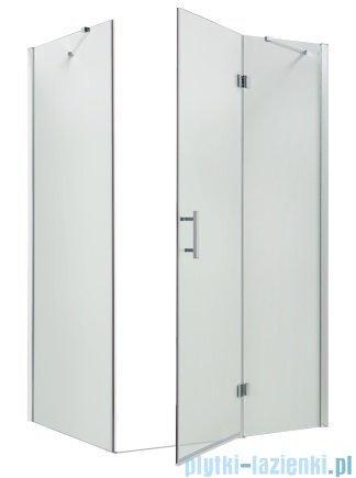 Omnires Manhattan kabina prostokątna 3M™ Easy Clean 80x100x185cm szkło przejrzyste ADC81XLUX