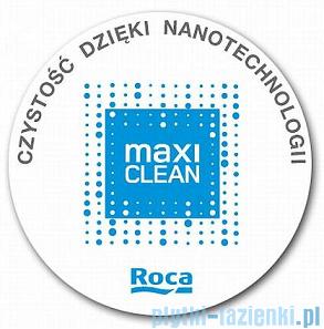Roca Hall Umywalka narożna 43x35cm Lewa powłoka Maxi Clean A32762300M