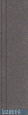 Paradyż Intero grafit stopnica 29,8x119,8