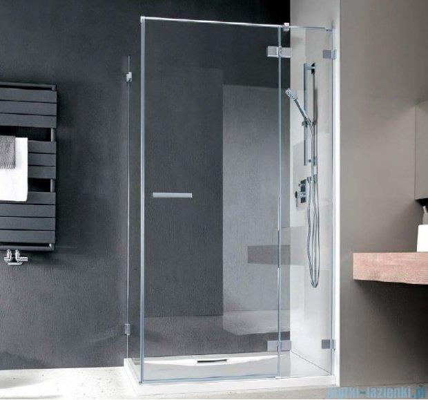 Radaway Euphoria KDJ Kabina prysznicowa 100x90 prawa szkło przejrzyste + brodzik Argos D + syfon 383040-01R/383050-01/4AD910-01