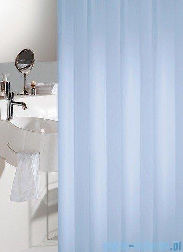 Sealskin Granada jasny niebieski zasłona prysznicowa PCV 180x200cm 217001320
