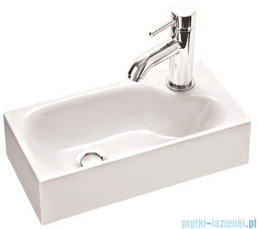 Marmorin umywalka nablatowa Elara 4 z otworem 40cm biała 420040020011