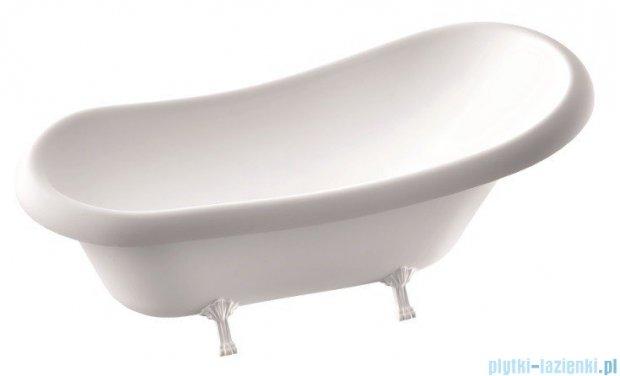 Marmorin Fama Wanna owalna bez przelewu 170x75cm biała 566173020010
