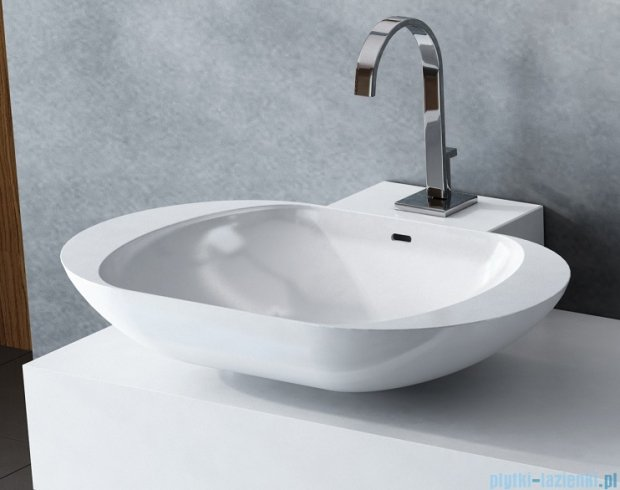 Antado Combi szafka z blatem lewym i umywalką Mia biały ALT-140/45GT-WS+ALT-B/1-1000x450x150-WS+UCS-TC-60