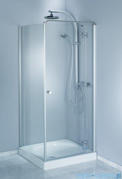 Aquaform Sol drzwi kabinowe do montażu ze ścianką De Luxe 120cm szkło przejrzyste prawe 06055