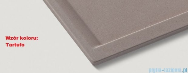 Blanco Zenar 45 S  Zlewozmywak Silgranit PuraDur komora lewa kolor: tartufo z kor. aut. i jesionową deską do krojenia 519228
