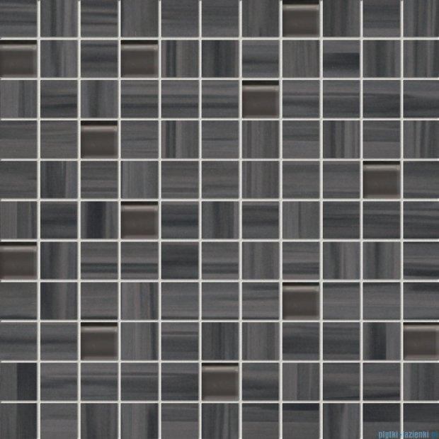 Tubądzin Wave grey mozaika ścienna 30x30