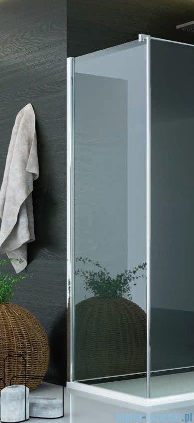 SanSwiss Pur PUDT3P Ścianka boczna 90x200cm krople PUDT3P0901044
