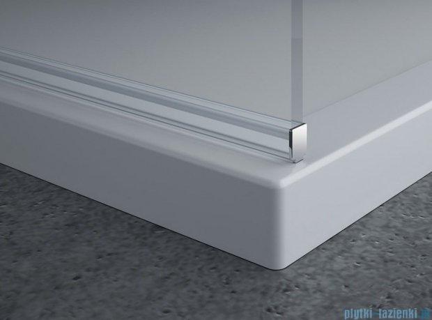 SanSwiss Pur PDT4P Ścianka wolnostojąca 70cm profil chrom szkło przezroczyste PDT4P0701007