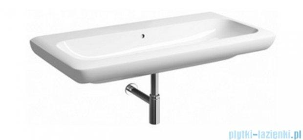 Koło Life! umywalka 100cm bez otworu na baterie biała M21010
