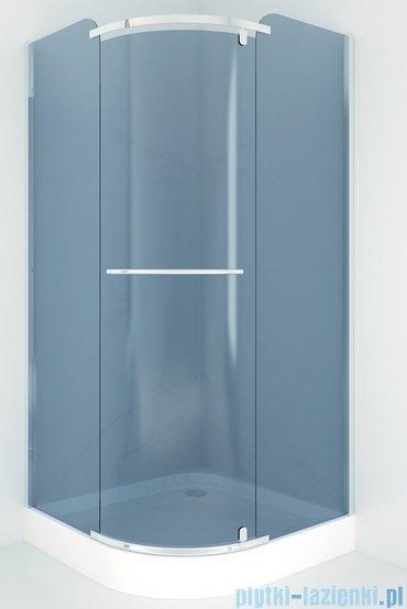 Sea Horse Sigma kabina natryskowa narożna półokrągła, 90x90, szkło: grafit BK002/3/RG
