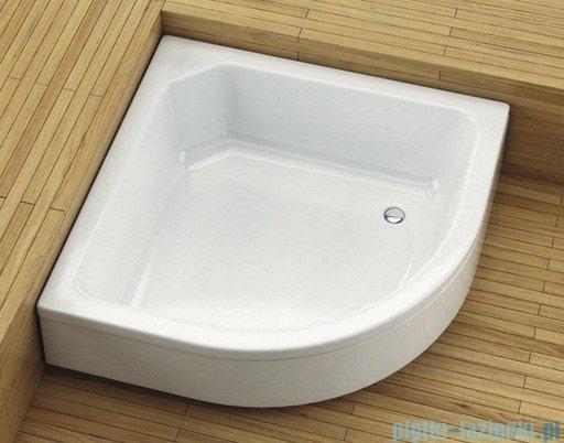 Aquaform Plus 550 brodzik półokrągły głęboki bez siedziska 80x80cm 200-18612P
