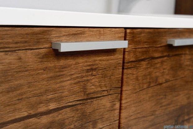 Antado Sycylia Szafka podumywalkowa z szufladą 135x50x45 stare drewno KTS-140/3-50