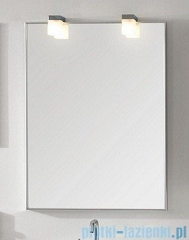 Antado lustro w aluminiowej ramie 70x80cm AL-70X80