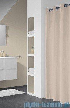 Sealskin Coloris ecru zasłona prysznicowa tekstylna 180x200cm 232211365