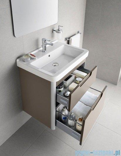 Roca Dama-n Unik 65 zestaw łazienkowy z 2 szufladami Taupe mat A851047373