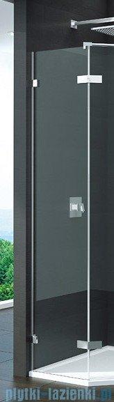 SanSwiss Pur PUT52P Ścianka boczna do kabiny 5-kątnej 30-100cm profil chrom szkło Satyna PUT52PSM11049
