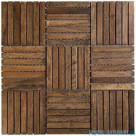 Dunin Etn!k mozaika drewniana 32x32 chocolate oak 110