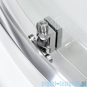 New Trendy Varia kabina półokrągła 80x80x185cm perła K-0430