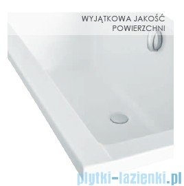 Besco Quadro 155x70cm Wanna prostokątna #WAQ-155-PK