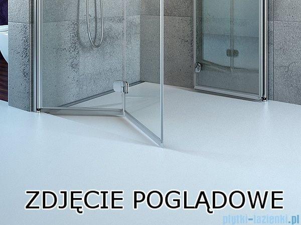 Radaway Fuenta New Kdj+S kabina 75x80x75cm prawa szkło przejrzyste 384021-01-01R/384049-01-01/384049-01-01