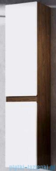 Aquaform Ramos standard szafka słupek wysoki prawa biała/dąb 0415-423118