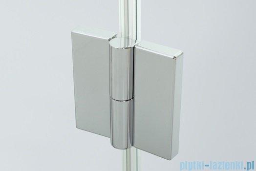 Sanplast kabina narożna prostokątna prawa przejrzyste KNDJ2P/AVIV-80x120 80x120x203 cm 600-084-0180-42-401