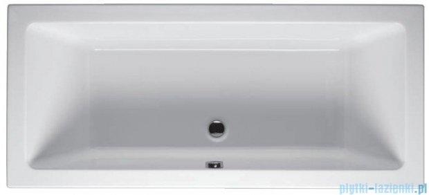 Riho Lusso Wanna prostokątna 190x80 z hydromasażem TOP Hydro 6+4+2/Aero11 BA59T5