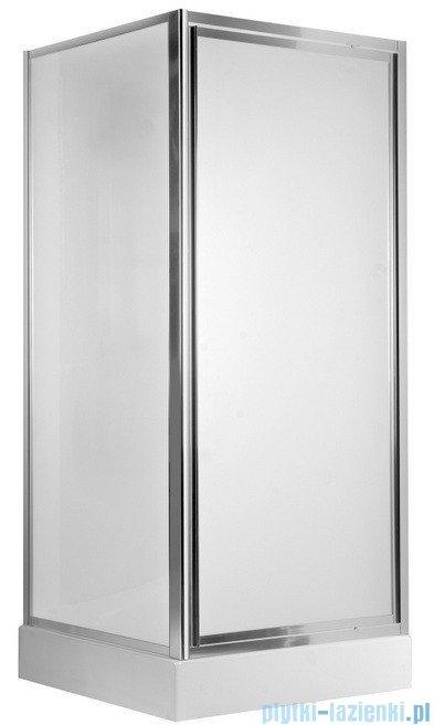 Deante Flex drzwi wnękowe uchylne 80x185 cm grafit KTL 412D