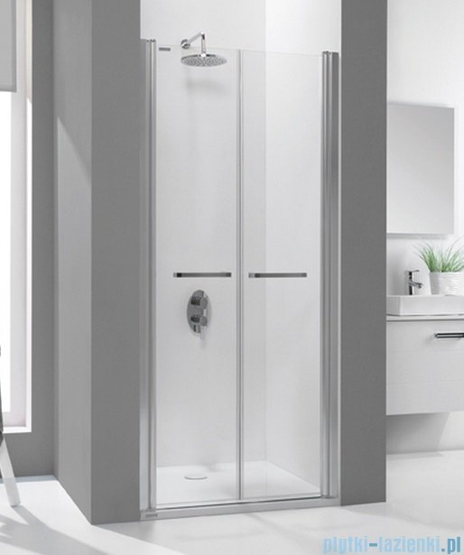 Sanplast drzwi skrzydłowe szkło: przejrzyste  DD/PRIII-120    600-073-0960-01-401