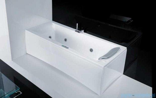 Novellini Elysium Wanna Y 180x80 z hydromasażem wodnym LEWA Y518080RS0-A1K